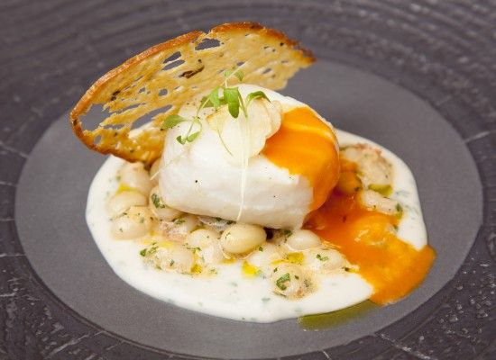 Sous-Vide Cod with Coco Beans and Tomato Confit - Sous-Vide Tools