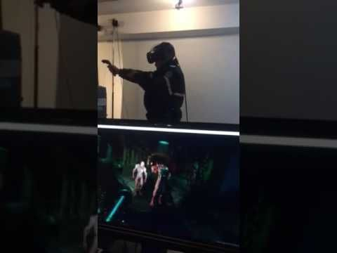 Cops in VR Shooting Zombies!