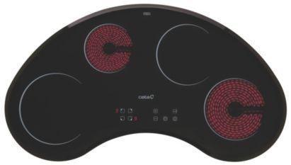 Cata Matx1 4 Burner Black Glass Electric Ceramic Hob