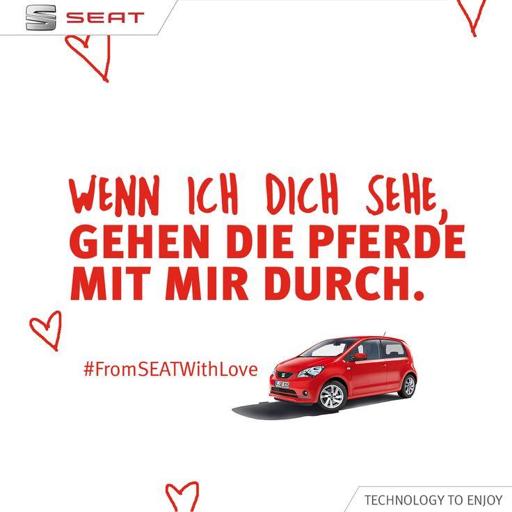 Schickt Eurem Valentinsschatz Einen Lieben #FromSEATwithLove  Valentinstagsgruß.   From SEAT With Love   Pinterest