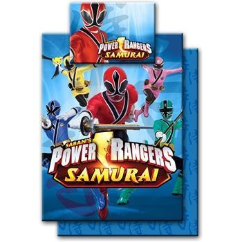 power rangers samurai bedding