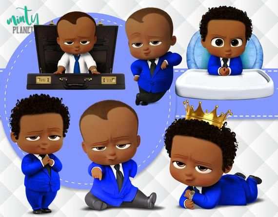 African American Blue Boss Baby Boss Baby Blue Full Quality Etsy Boss Baby Baby Birthday Party Boy Baby Shower Fun
