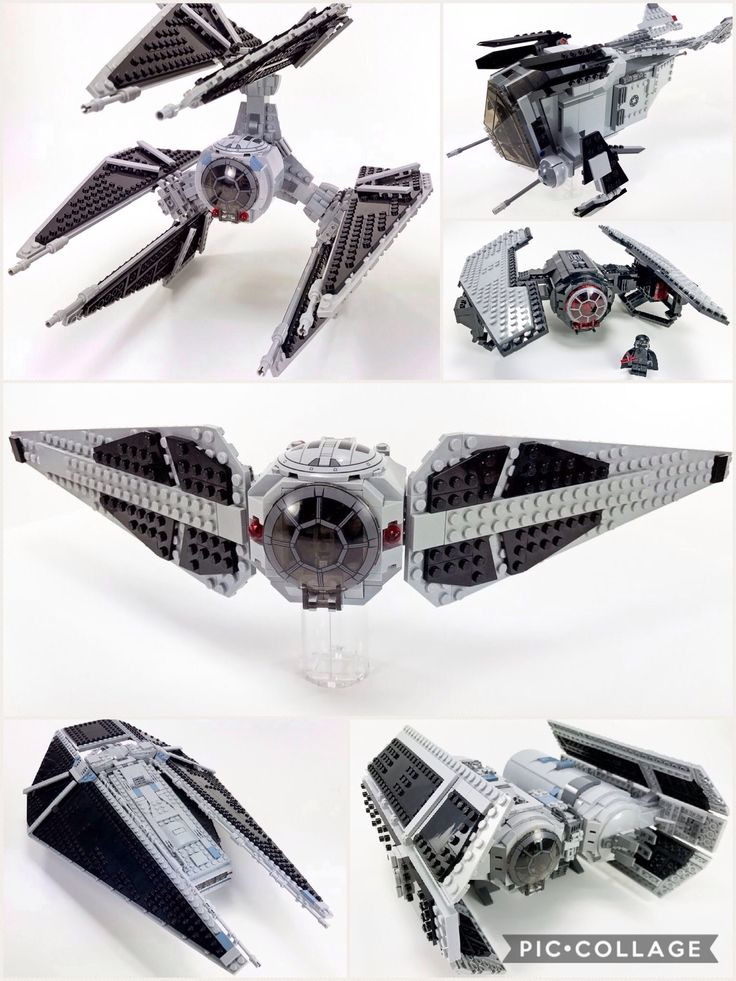 lego tie fighter moc instructions
