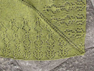 life in progress: xaile de março * march shawl