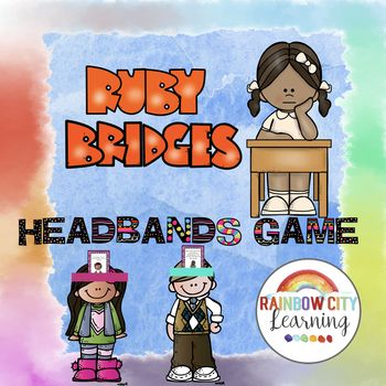 #BlackHistoryMonthWithTpT This Martin Luther King Headbands game will put a new spin on your study of Ruby Bridges this year! Headbands games are great for ice breakers, warmups, and review! Easy to use as a whole class activity or at a center. While playing a commercial version of this game with our
