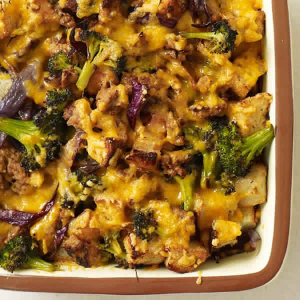 Broccoli And Sausage Casserole
