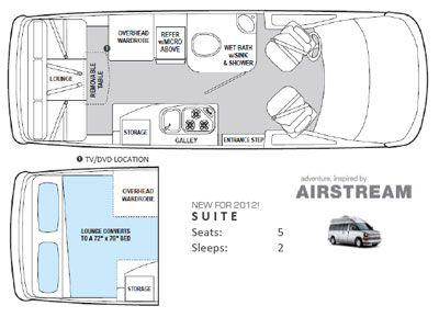 Floor Plan Of Chevy Express Google Search Van Interior