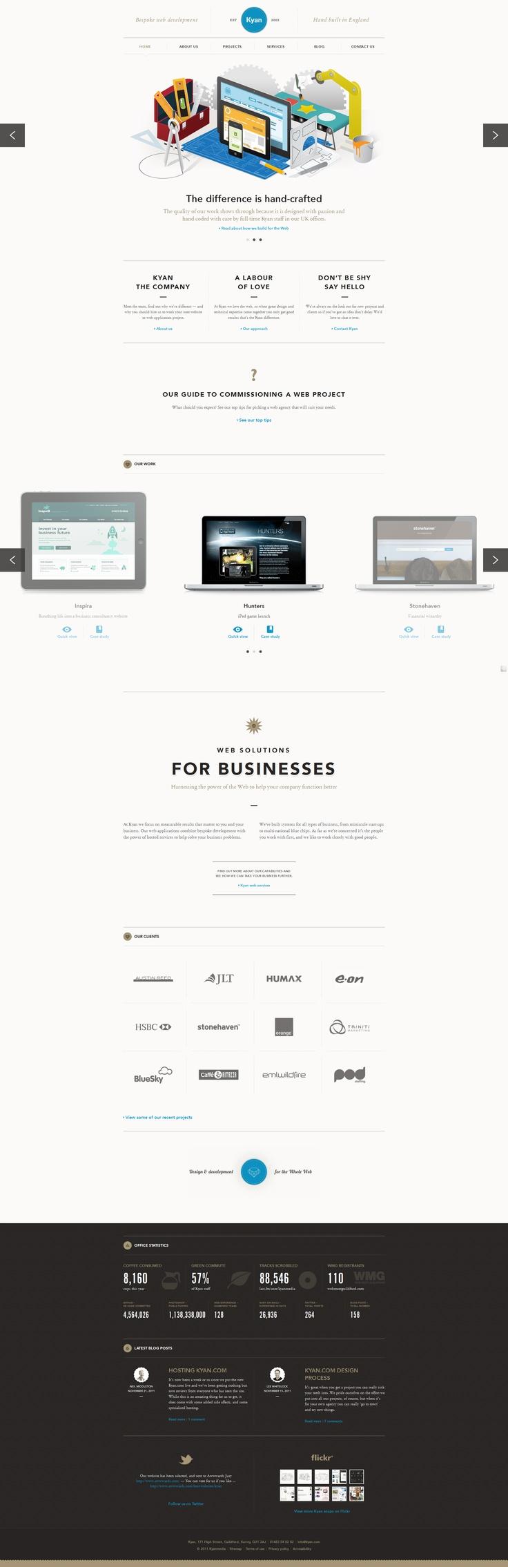 Just beautiful web design.