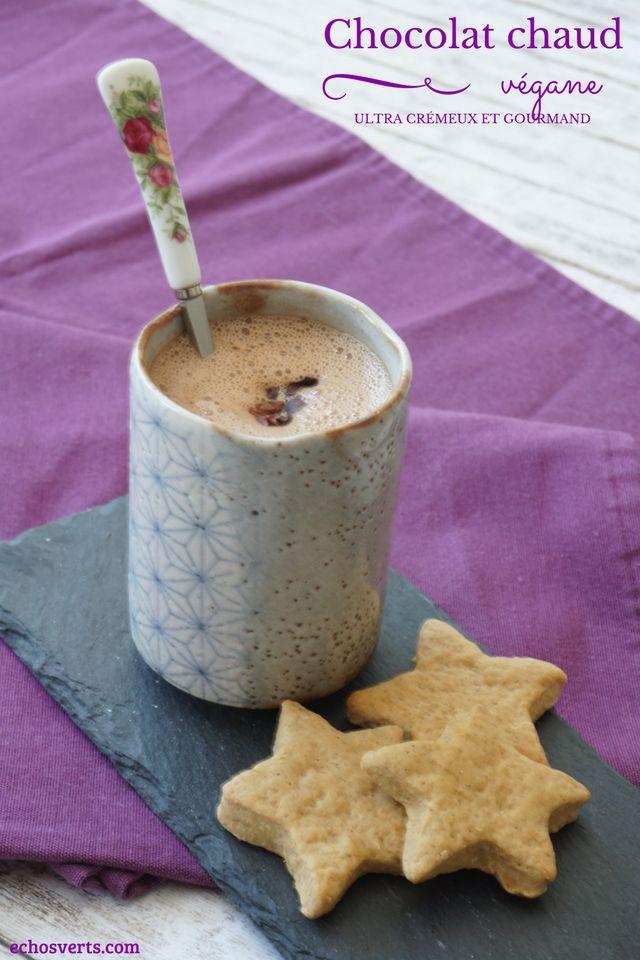 Chocolat chaud crémeux végane