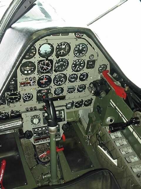 p51 mustang cockpit