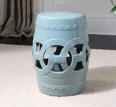 Old Sage Ceramic Garden Stool