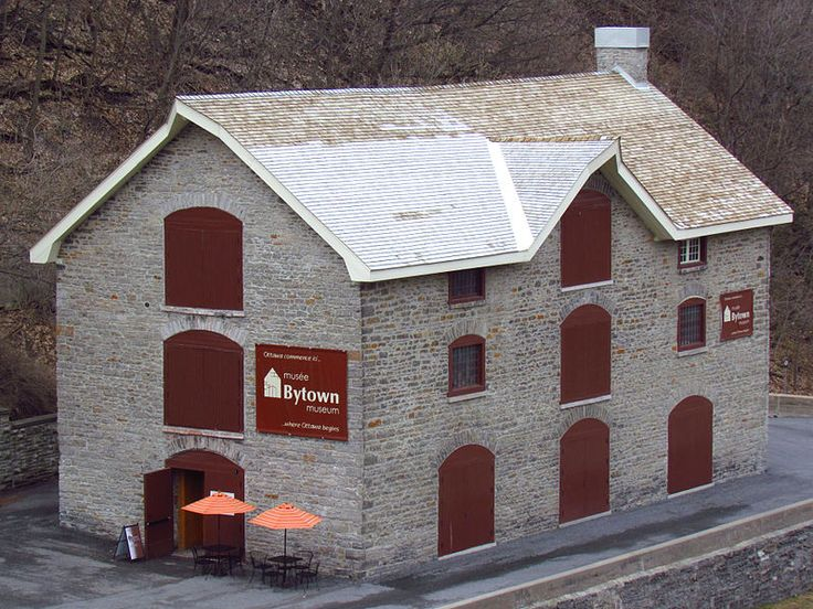 "Bytown Museum in Ottawa. This building is said to be haunted by Colonel John By, the builder of the canal, and his assistant General Duncan McNab. The reported paranormal activities include male voices yelling and saying ""get out"". Anonymous female visitors have been pushed hard in empty rooms. In the doll exhibit, children have been heard crying the dolls have seen moving and winking at witnesses."