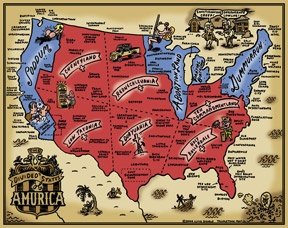 Visit every US state.