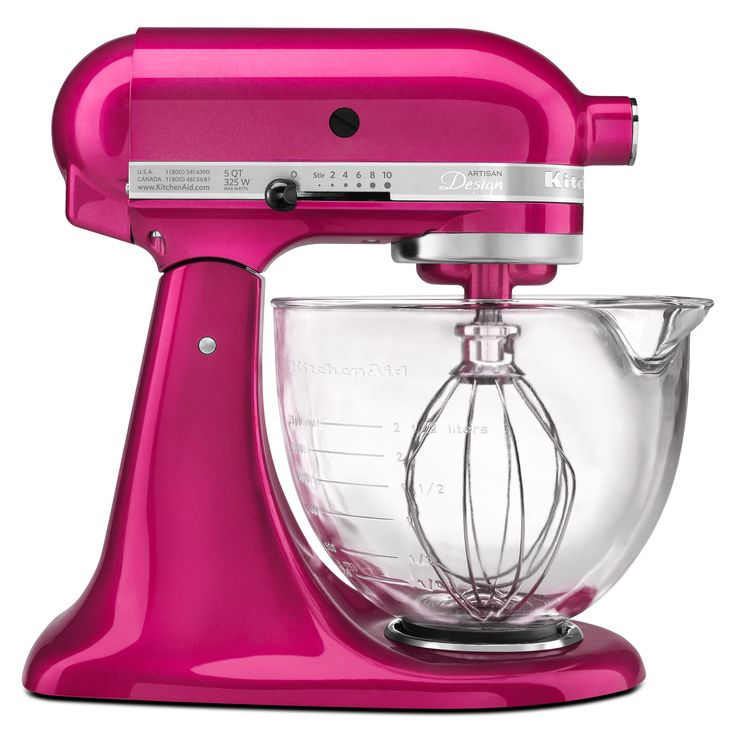 Get kitchen work done quickly and in style with this Artisan series stand mixer. Known for quality and durability, this KitchenAid mixer is perfect for any home chef.