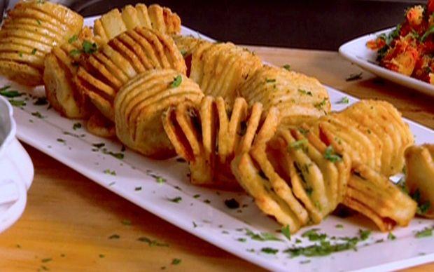 Hasselback Roasted Potatoes Recipe