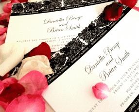 #Wedding_Invitation @Aaron Giles  Danielle & Brian