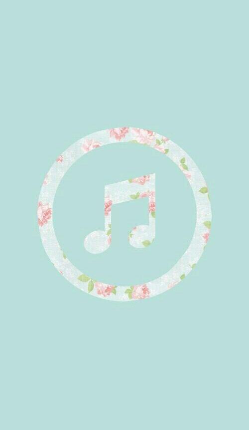 Картинка с тегом «music, flowers, and wallpaper»