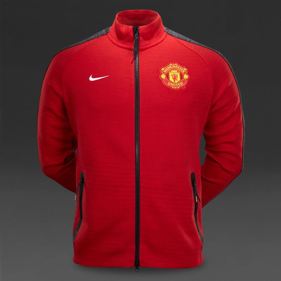 Rare Nike Manchester United 2014/15 Men's Tech Jacket Size M Ref. 62674 654 in Sporting Goods, Tennis & Racquet Sports, Clothing, Shoes & Accessories | eBay