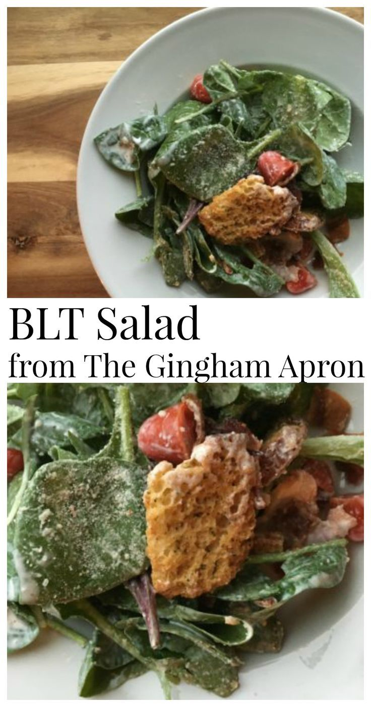 BLT Salad- a healthy, delicious twist on the classic ...
