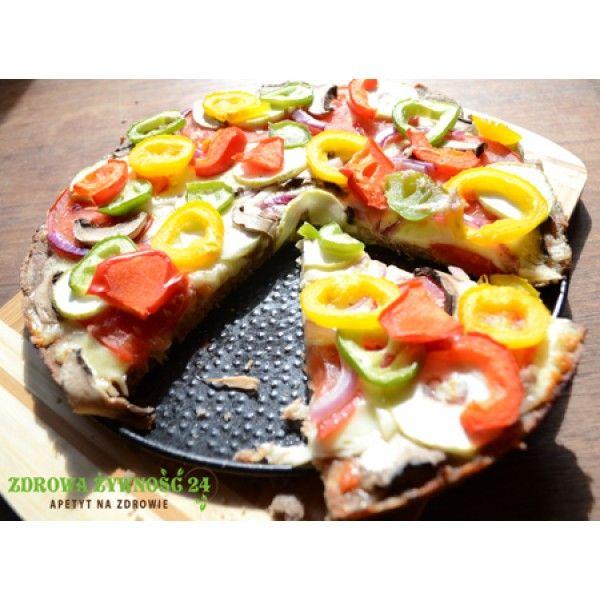 Zdrowa pizza gryczana