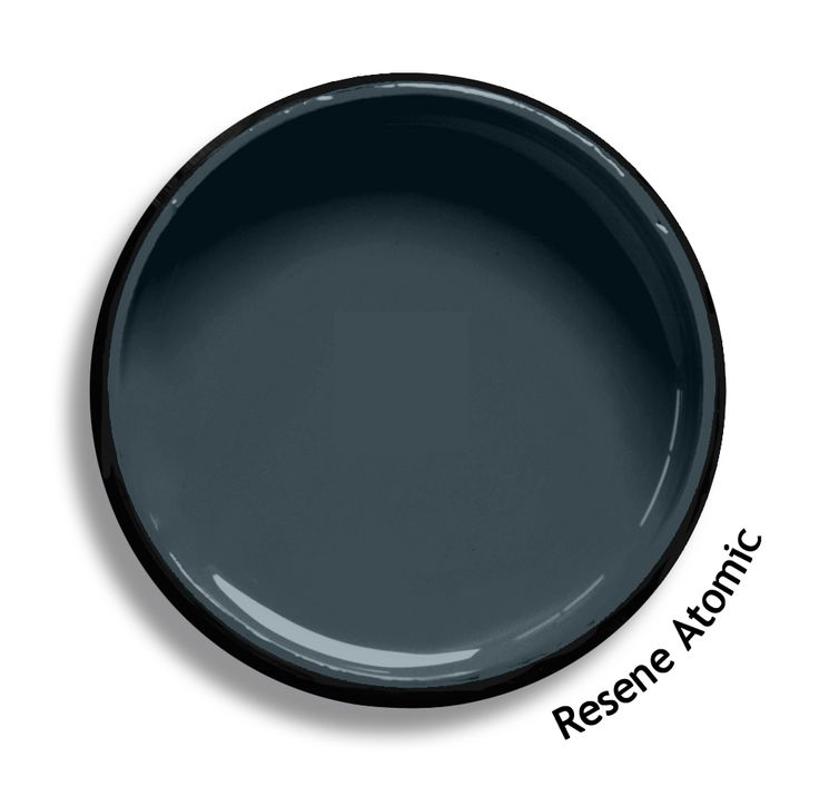 Resene Atomic is a powerful gridiron grey blue shade. From the Resene Multifinish colour collection. Try a Resene testpot or view a physical sample at your Resene ColorShop or Reseller before making your final colour choice. www.resene.co.nz