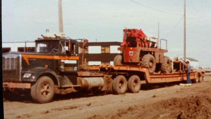 Totran last load out of the Gordon Riley yard 1979
