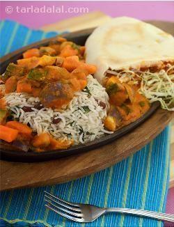 Lebanese Sizzler recipe | Sizzler Recipes | Barbeque Recipes | by Tarla Dalal | Tarladalal.com | #4839