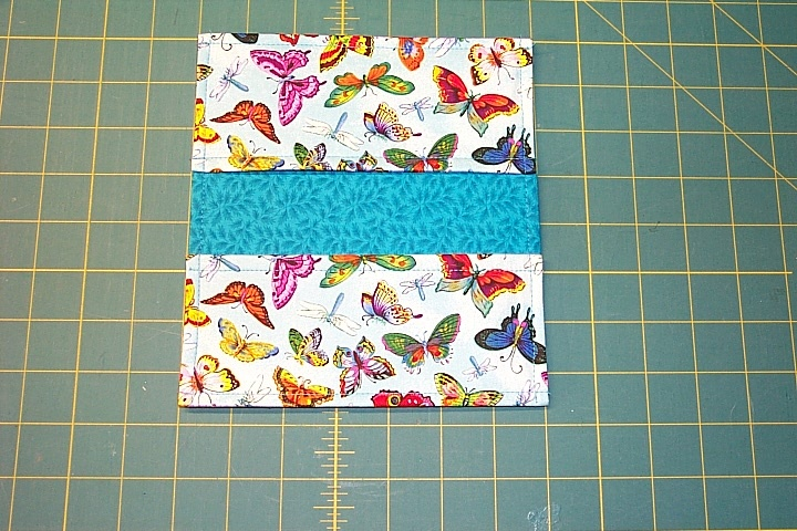 Checkbook Cover Pattern : Free checkbook cover sewing pattern i just made my first