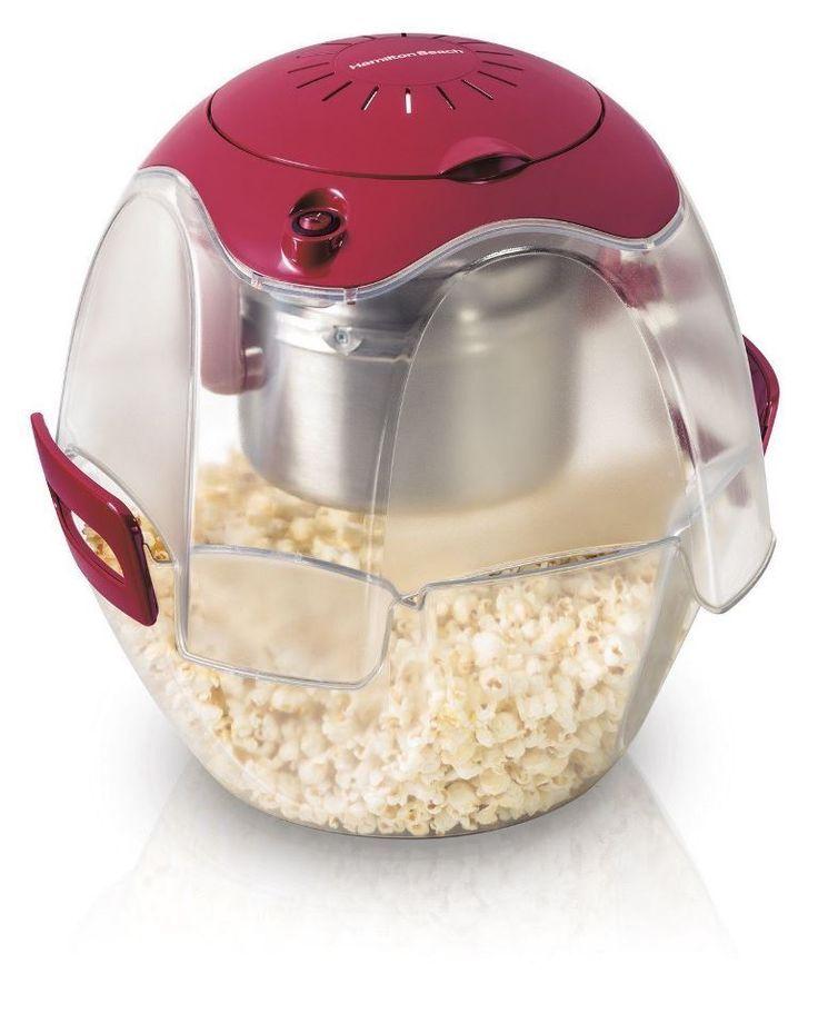 Hamilton Beach 73310 Party Popper Popcorn Maker Red (FREE SHIPPING)