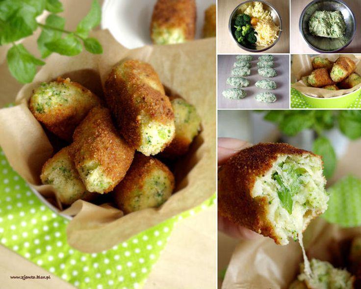 Brokułowe krokiety - Obiad brokuły,krokiety,obiad - kobieceinspiracje.pl