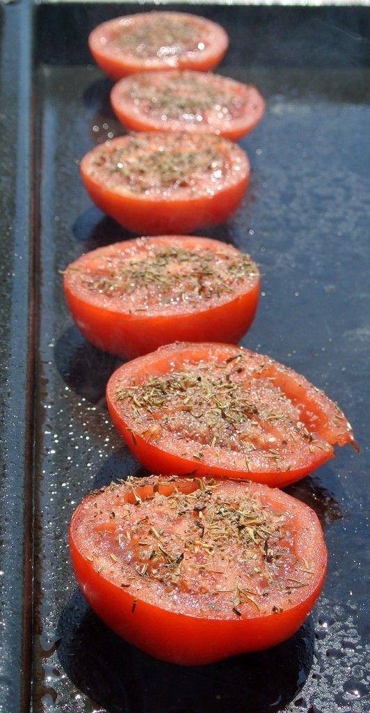j'en veux !!!! Tomates à la Plancha