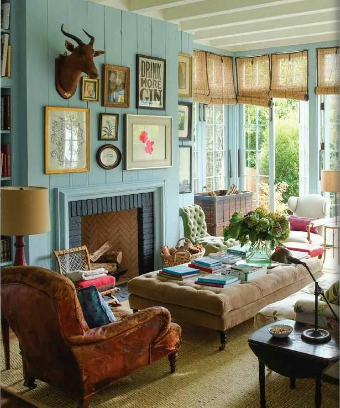 Rita Konig Farm House Living Room Living Room Designs Curtains Living Room #western #curtains #for #living #room