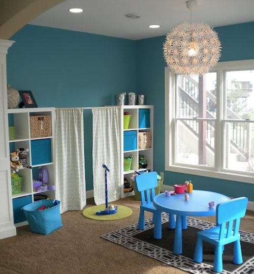 10 Fun Kids' Playroom Designs and Ideas-Create a playful space for your child with some of these fun playrooms.