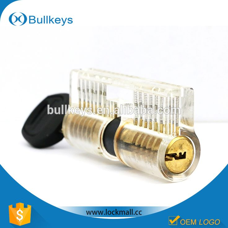 Bullkeys 7 Pins Transparent AB kaba Lock for professional Locksmith Training tool AB01