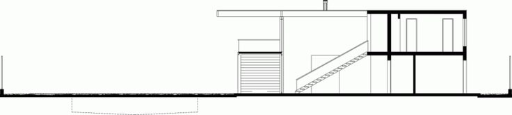 Home & Apartment:Two Level BK House Section House Design Exterior Facade Concept Idea Scheme Plan Modern Two Level BK House Framing the Surr...