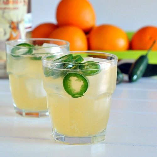 jalapeno margarita - would be fun to make when our peppers are ready from the garden