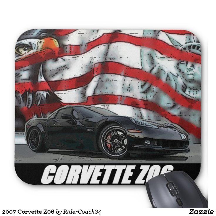 2007 Corvette Z06 Mouse Pad