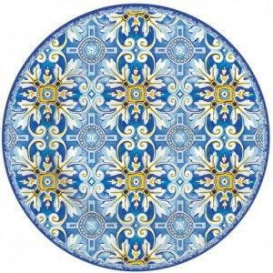 Πιάτο γλυκού πορσελάνης 19 εκ. μπλέ Maiolica R2S 944ΜΑΙΒ http://www.shopee.gr/piato-glukou-porselanis-19cm-blue-maiolica-r2s.html