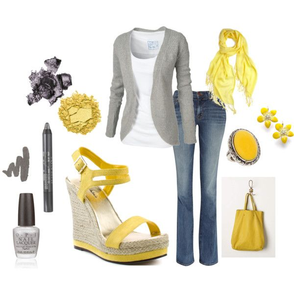 I love yellow!! Would be perfect for spring.