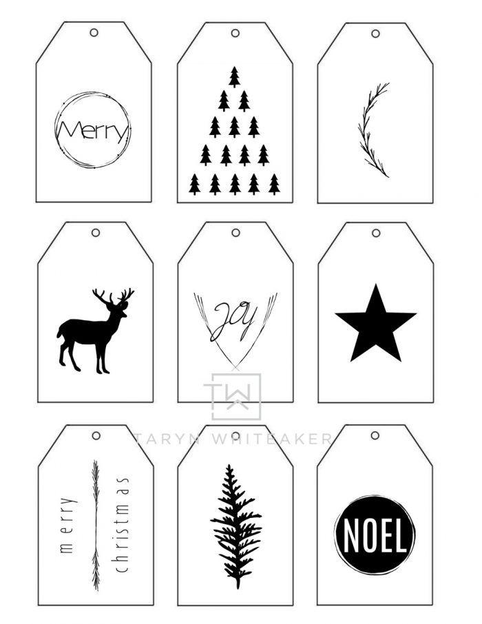 printable christmas gift tags taryn whiteaker christmas