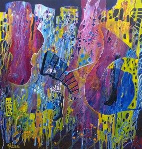 Rhythm of the Night    This painting epitomises the floating rhythm of music through the years creating and linking to a strong sense of com...