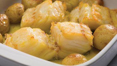 Bacalhau à Lagareiro - É uma das mais conhecidas e confeccionadas receitas de bacalhau.