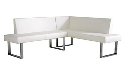 Armen Living Amanda Corner Seating - White - Kitchen & Dining Table Sets at Hayneedle