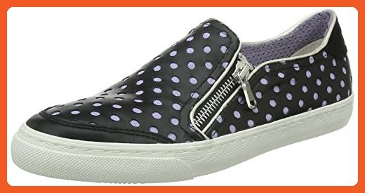 Geox Women's D New Club 27 Fashion Sneaker, Black, 37 EU/7 M US - Sneakers for women (*Amazon Partner-Link)