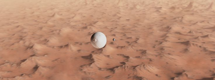 """This is a work made for the landing of the new Mars Rover """" curiosity """" I hope you like it guys ! :)"""