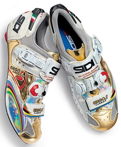 Paolo Bettini custom Sidi Cycling Shoes