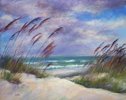 Nags Head Outer Banks, North Carolina, painting by artist Karen Margulis