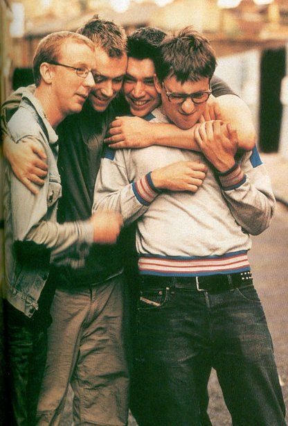 blur – Dave Rowntree, Damon Albarn, Alex James, Graham Coxon