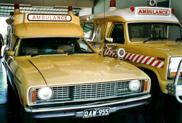 1978 Ford XC Falcon and 1980's Ford F100 Ambulances Queensland Australia