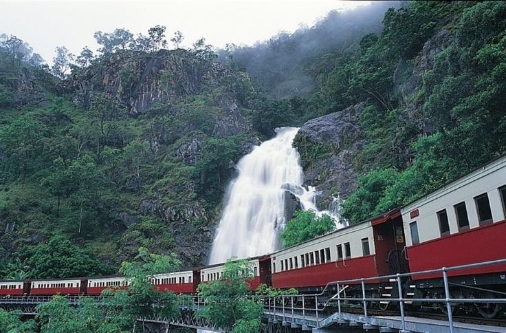 Take the breathtaking rail journey to the village of Kuranda. Return to the lowlands by the Skyrail Cableway above the Barron Gorge National Park. http://www.lokshatours.com/day-tours/cairns-day-tours-great-barrier-reef-tours
